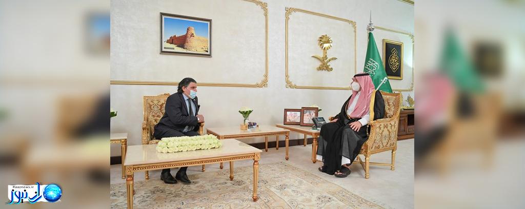 دیدار سفیر پاکستان با استاندار مناطق مرزی شمالی عربستان سعودی
