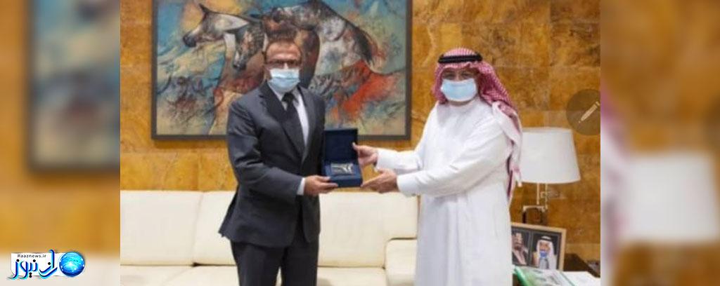 دیدار سفیر پاکستان با رئیس اداره کل هواپیمایی عربستان سعودی