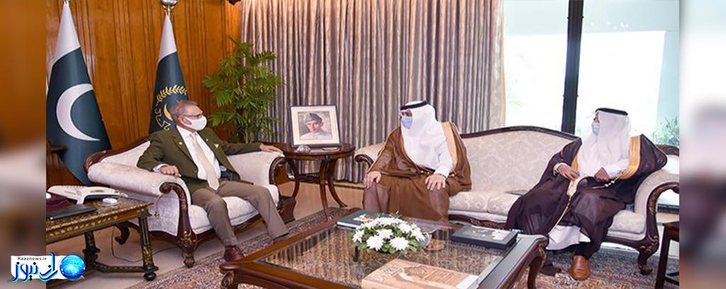 رایزنی سفیر عربستان در اسلام آباد با رئیس جمهور پاکستان